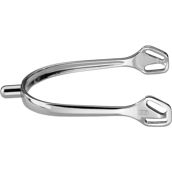 Herm Sprenger Ultra fit Stainless Steel Spurs, round neck end, no rowel