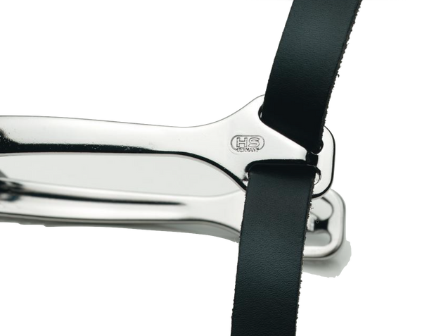 Herm Sprenger Spur Straps, black leather