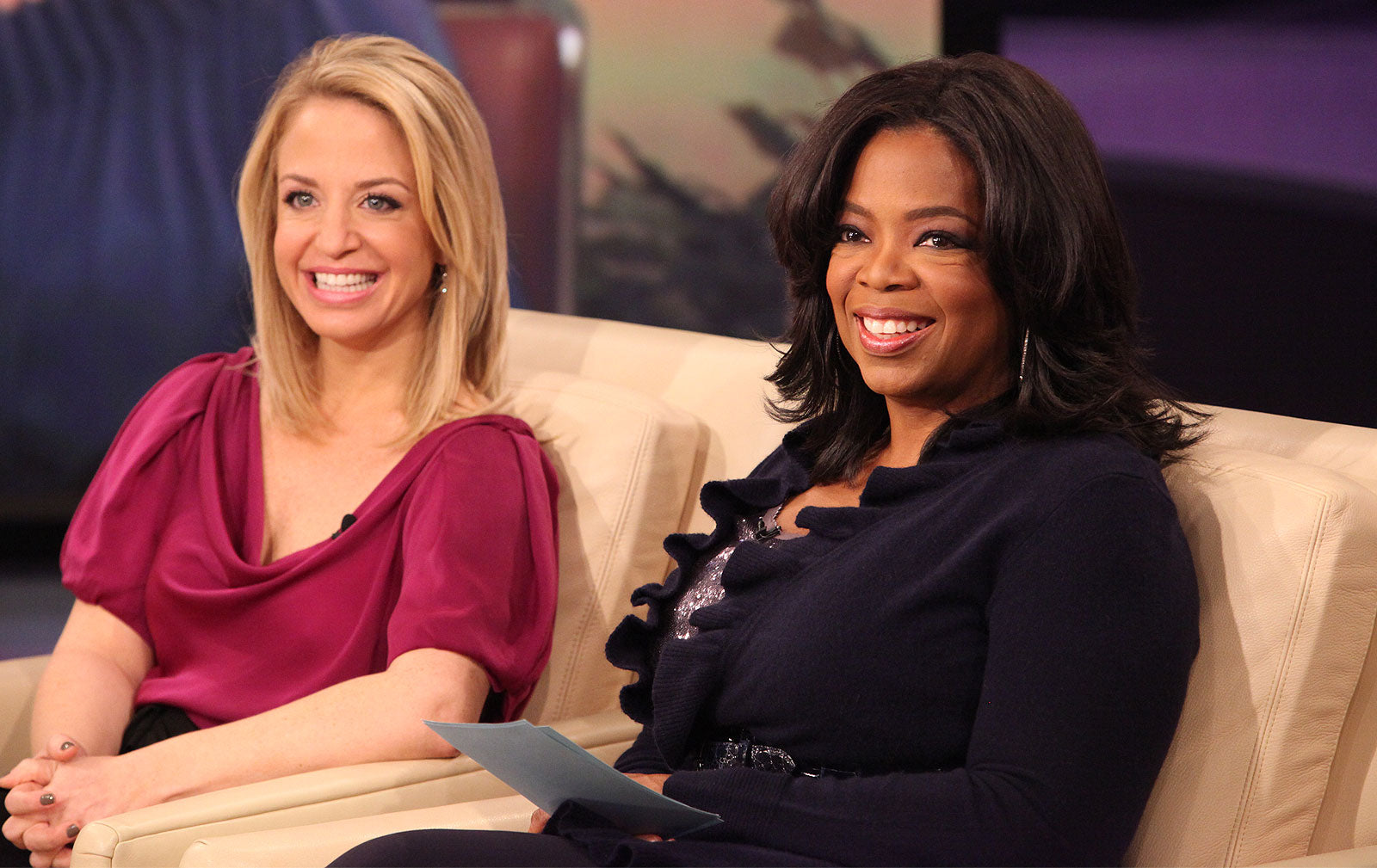 Laura Berman and Oprah