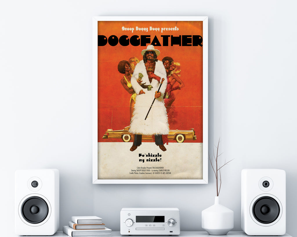 Doggfather Print - HappyLittleHome