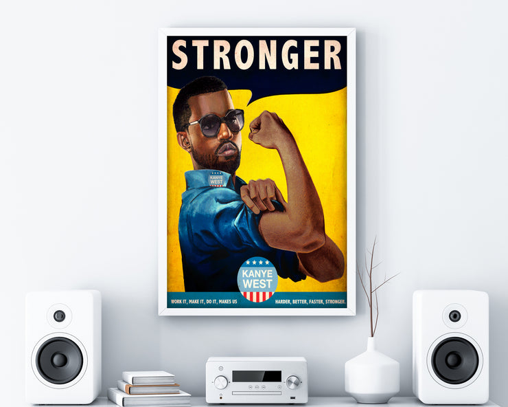 Stronger Print - HappyLittleHome