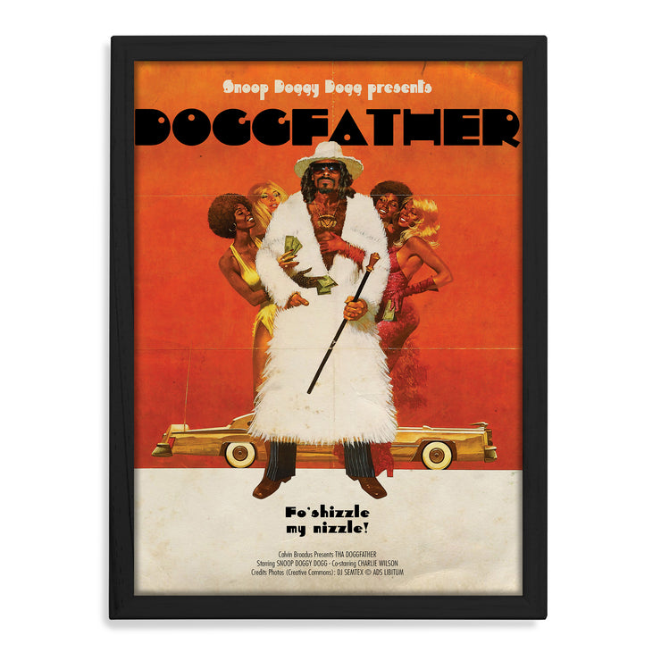 Snoop Dogg Doggfather Print