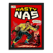Nasty Nas Print - HappyLittleHome