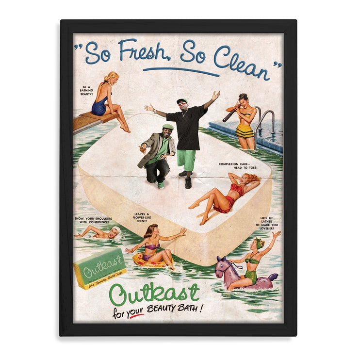 Outkast So Fresh So Clean Print - HappyLittleHome