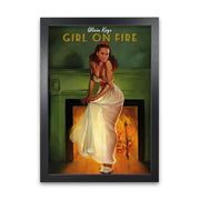 Alicia Keys Girl on Fire Print
