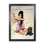 Amy Winehouse You Know I'm No Good Print