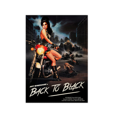 Amy Winehouse Back To Black Print