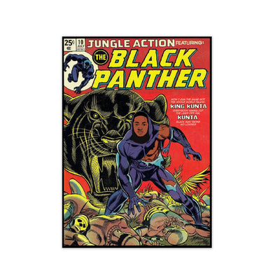 Black Panther Print - HappyLittleHome