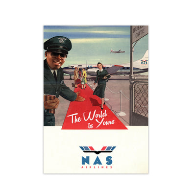 Nas Airlines Print