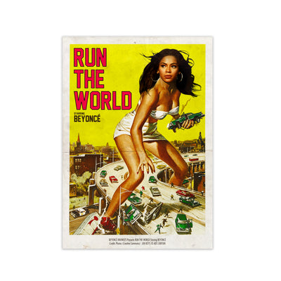 Run The World Print - HappyLittleHome