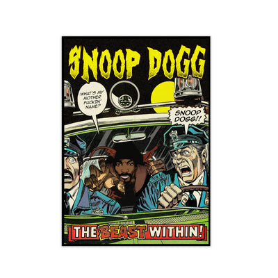 Snoop Dogg The Beast Within Print - HappyLittleHome