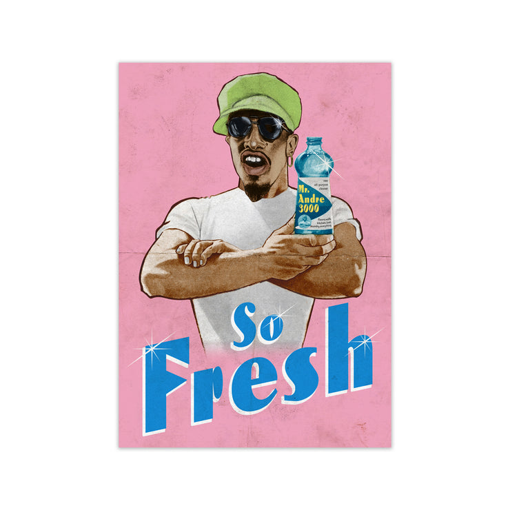 Outkast So Fresh Print