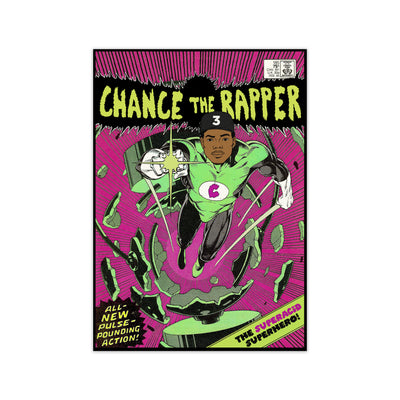 Chance The Rapper Print - HappyLittleHome