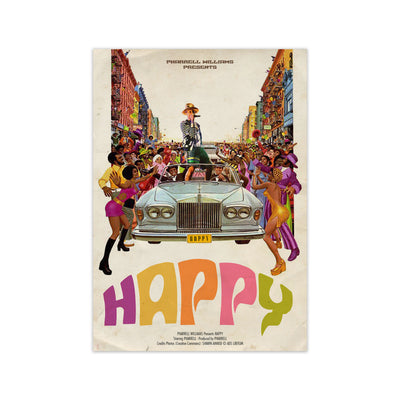 Pharrell Williams Happy Print