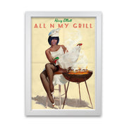 Missy Elliott All N My Grill Print