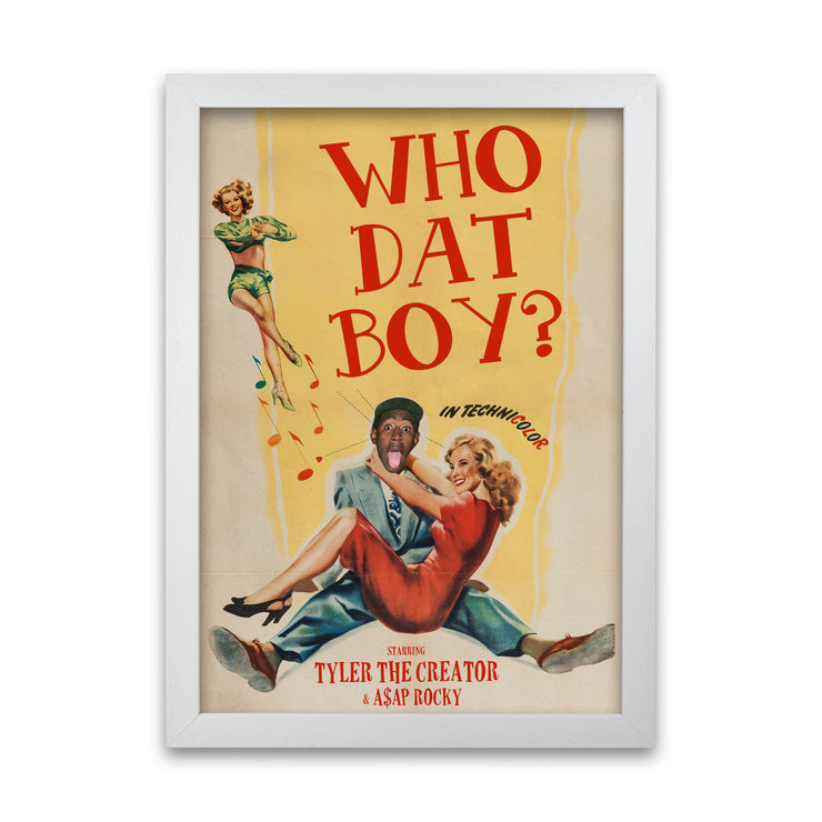 Tyler The Creator Who Dat Boy Print