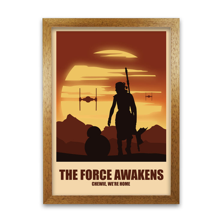 The Force Awakens Print - HappyLittleHome