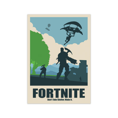 Fortnite Print - HappyLittleHome