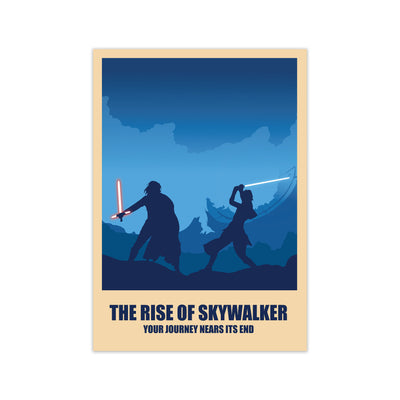 The Rise of Skywalker Print - HappyLittleHome