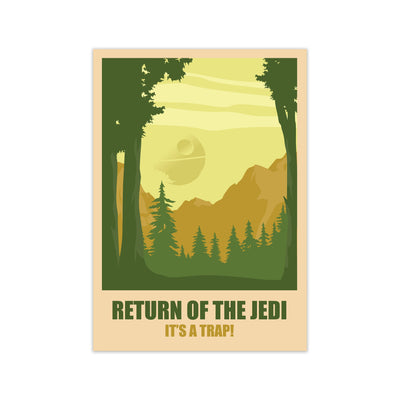 Return of The Jedi Print