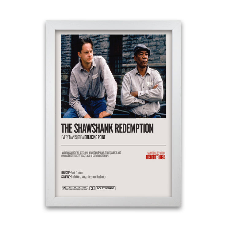 The Shawshank Redemption Print - HappyLittleHome