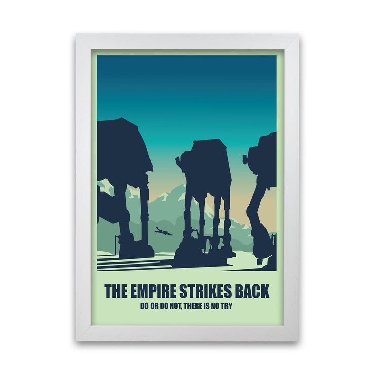 The Empire Strikes Back Print - HappyLittleHome