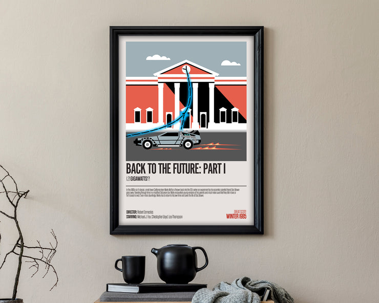 Back To The Future Part I Movie Poster - HappyLittleHome