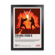 Star Wars Revenge of The Sith Movie Poster - HappyLittleHome
