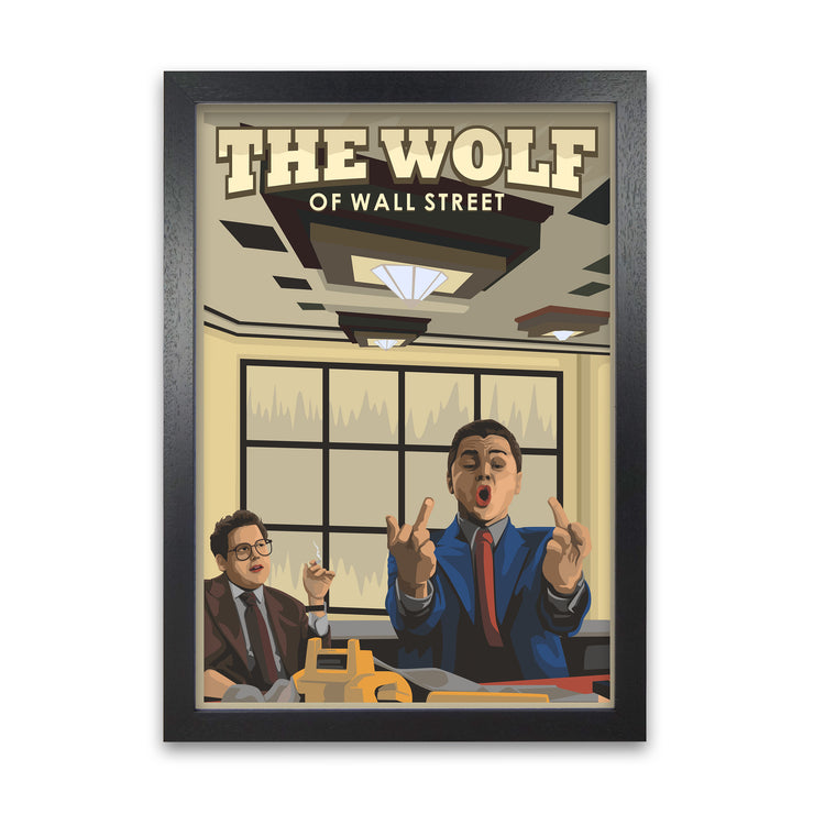 The Wolf of Wallstreet Movie Poster - HappyLittleHome