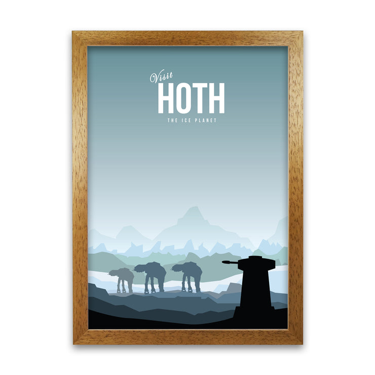 Hoth Star Wars Poster - HappyLittleHome