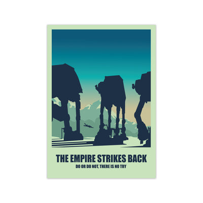 Empire Strikes Back Star Wars Poster - HappyLittleHome