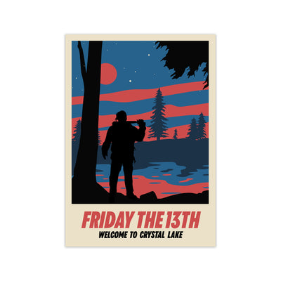 Friday The 13th Movie Poster - HappyLittleHome