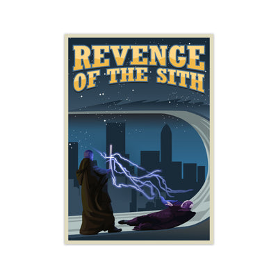 Revenge of The Sith Star Wars Poster - HappyLittleHome