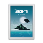 Ahch-To Star Wars Poster - HappyLittleHome