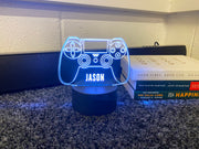Personalised PlayStation LED Neon Game Controller Custom Night Light Sign