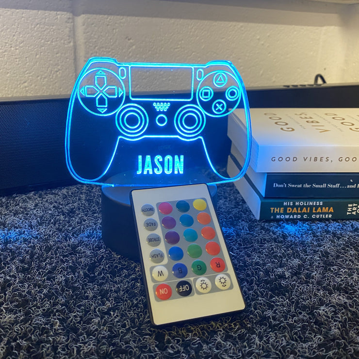Personalised PlayStation LED Neon Game Controller Custom Night Light Sign - HappyLittleHome