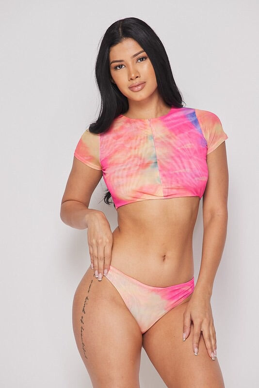 Paradise Dreams Tie Mesh Set