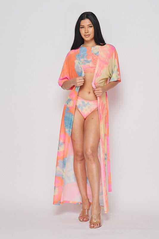 Paradise Dreams Tie Three Piece Set
