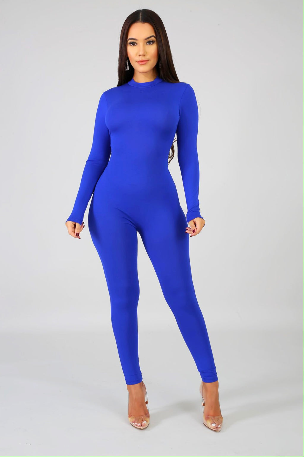 Feel Me Blue Jumpsuit