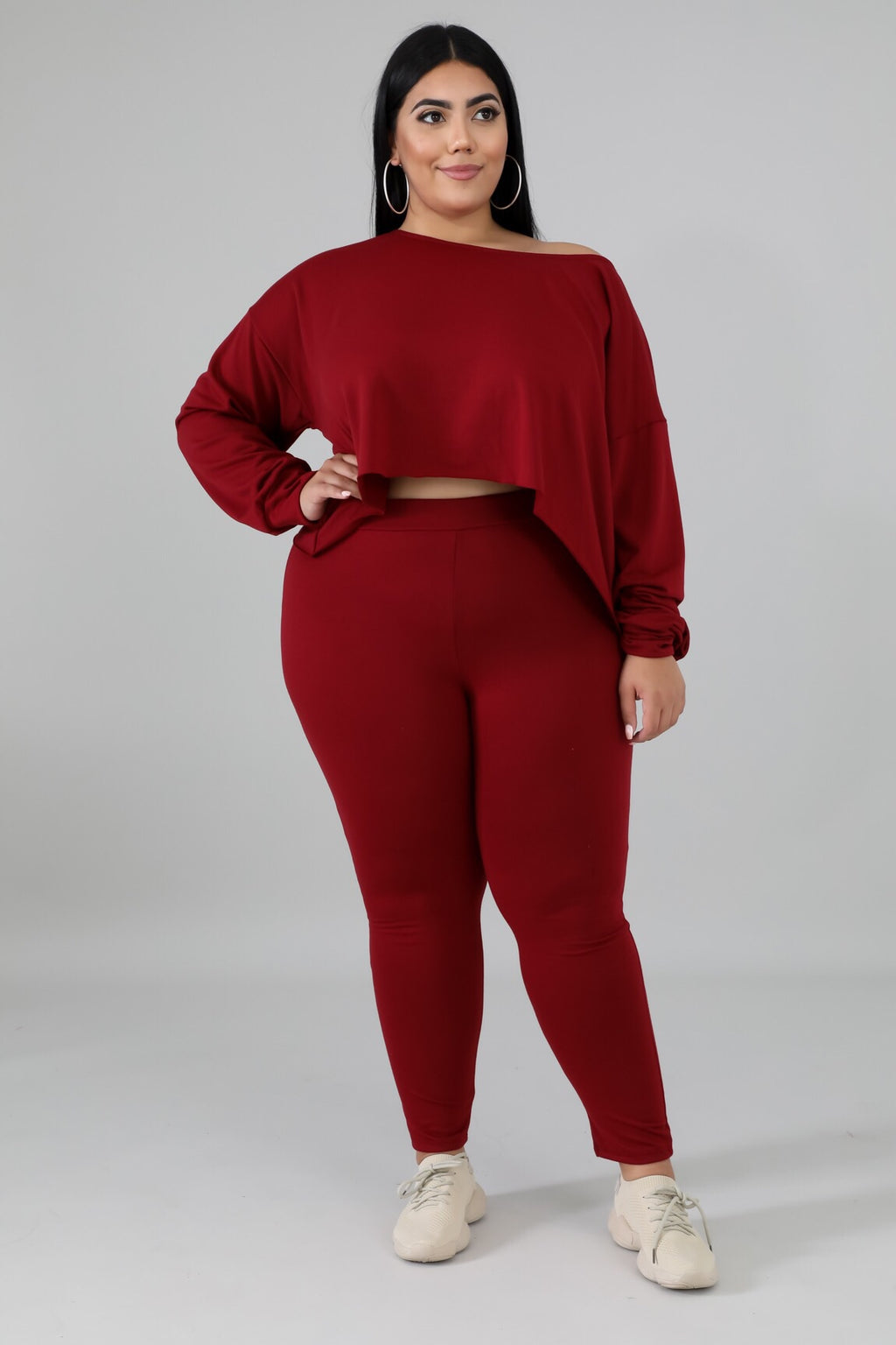 Most Wanted Curvy Lounge Set