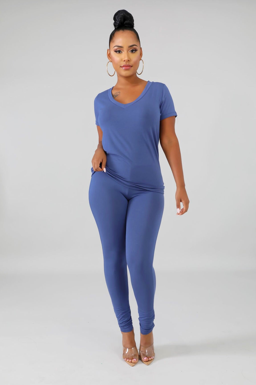 On Arrival Jersey Pants Set