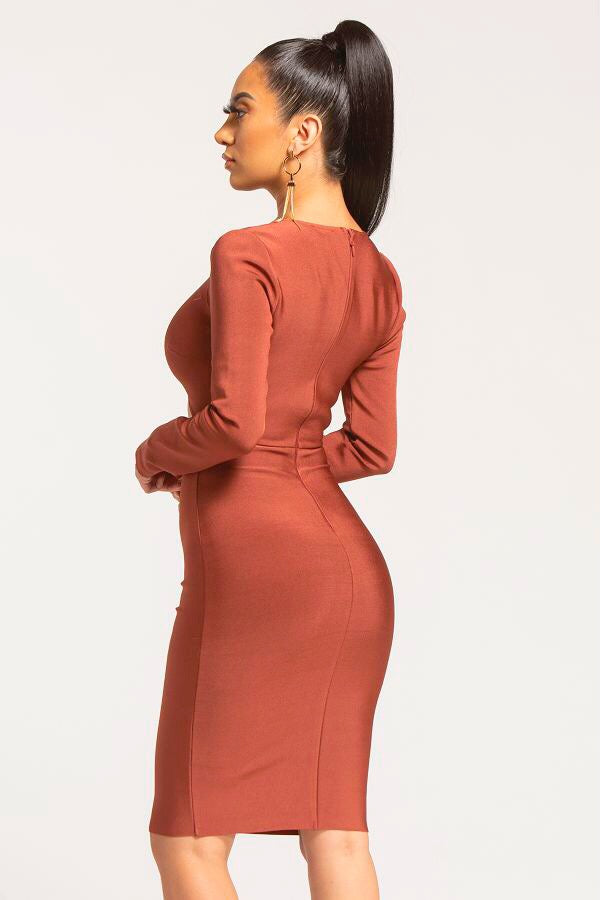 Spice Bandage Dress