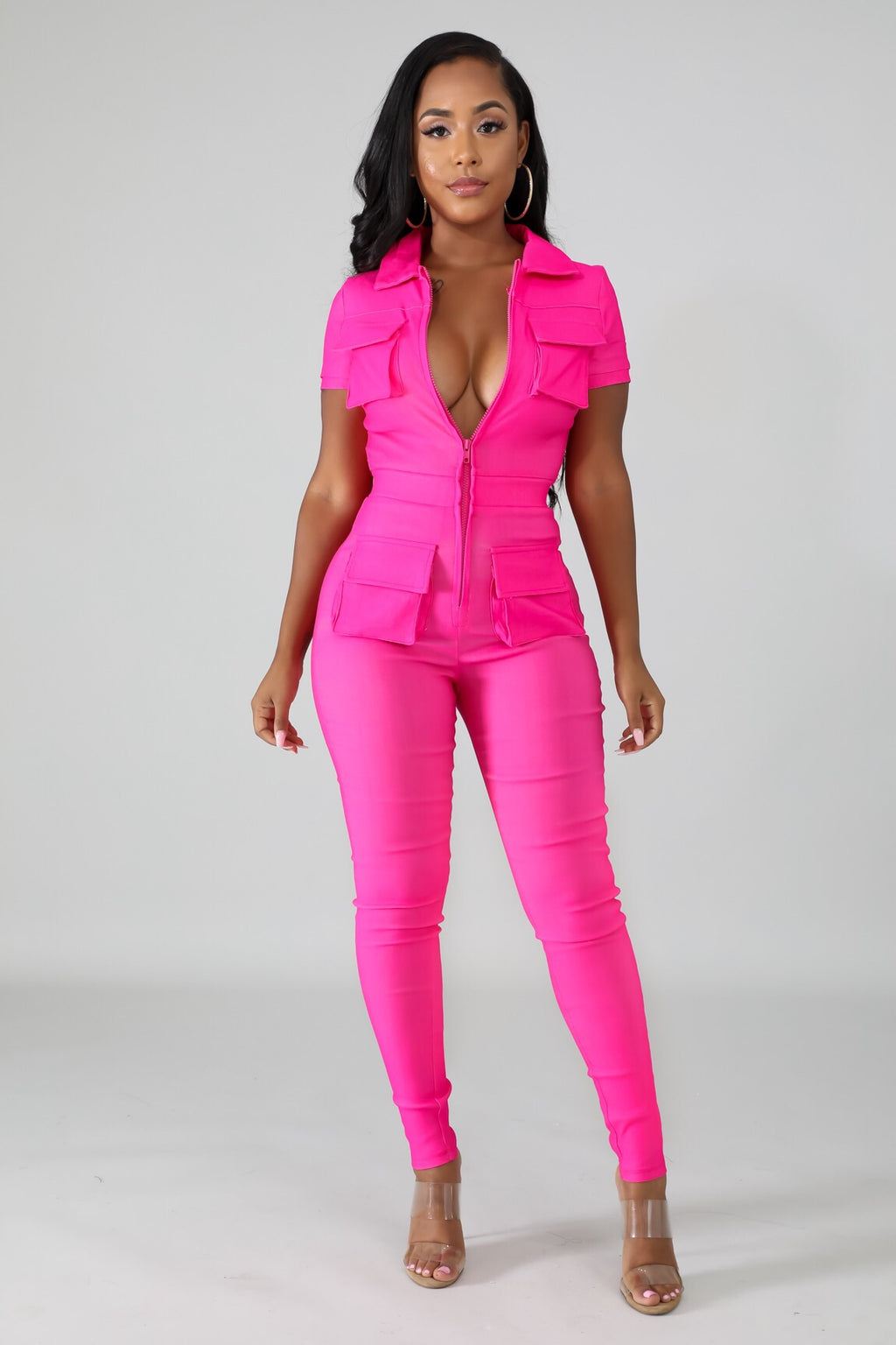 Treasure Cargo Skinny Jumpsuit