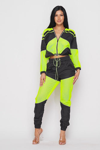 Glow Reflective Pants Set