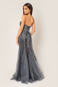Tulle Evening Dress