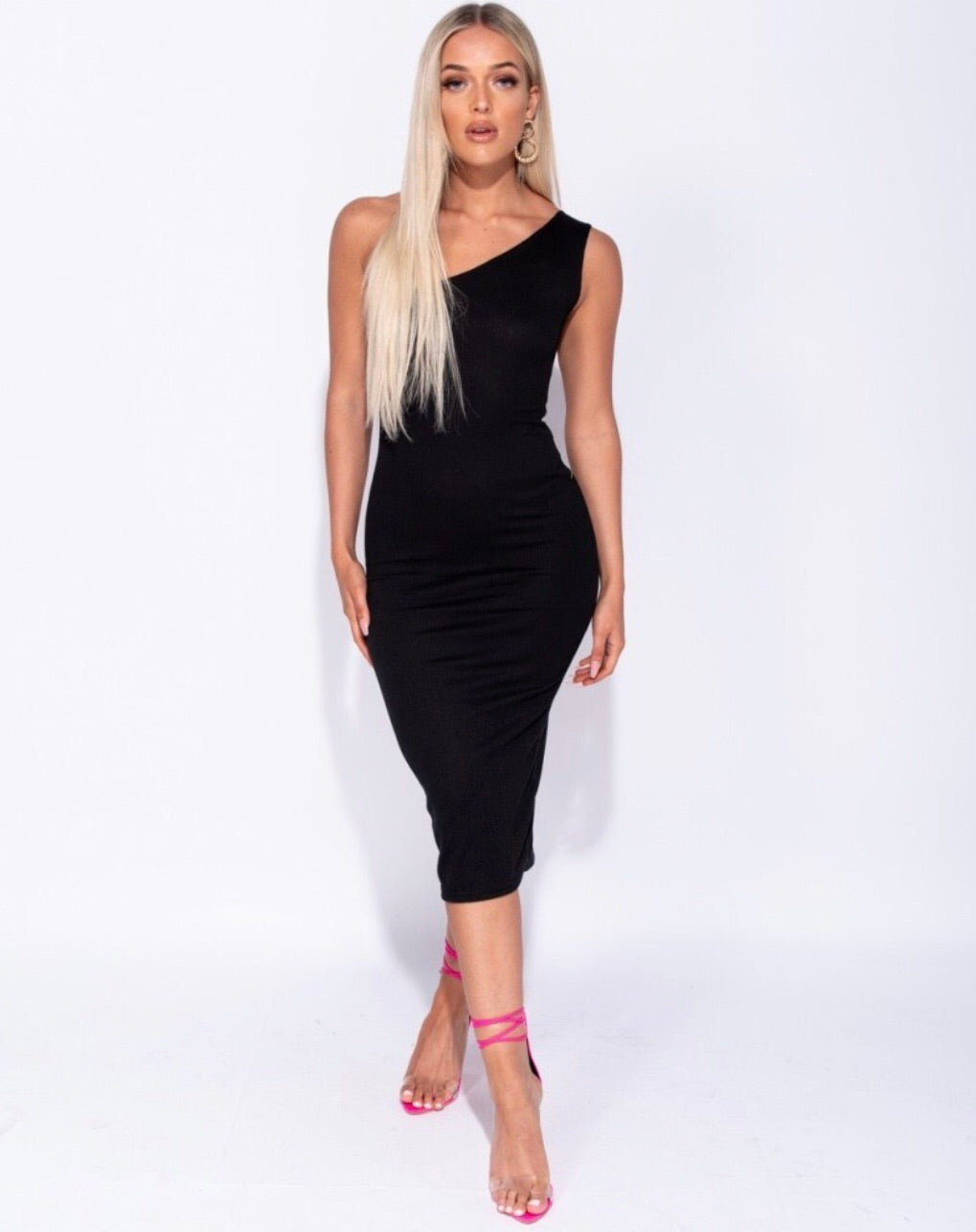 Back And Better Black Bodycon Dress