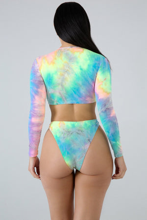 Spell On You Dye Swim Set