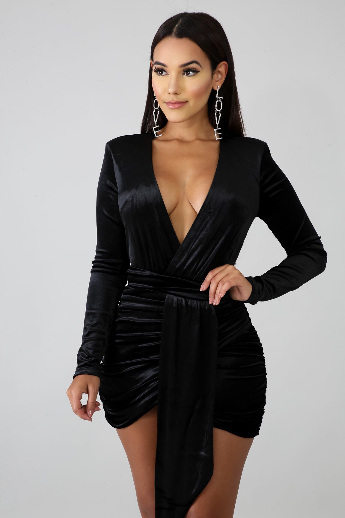 Velvet Stories Mini Dress