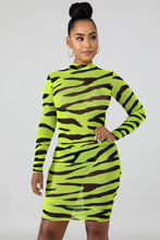 Load image into Gallery viewer, Neon Stripe Mini Dresses