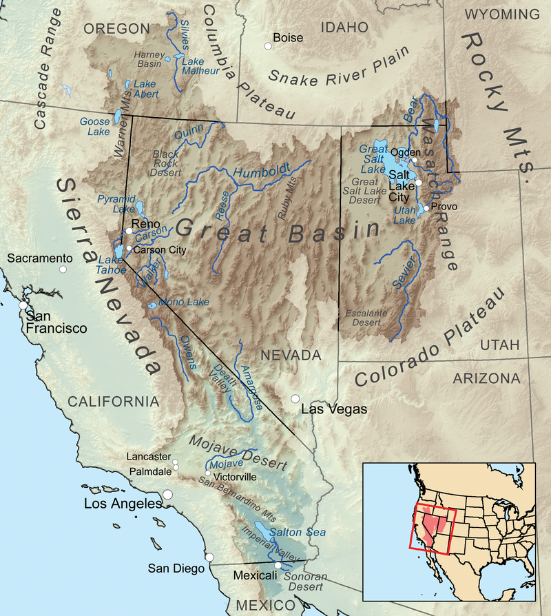 THE GREAT BASIN: OUR HOME